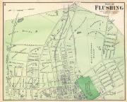 flushing map