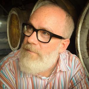 Photo by Colin Poellot: William Shunn at SingleCut Beersmiths, Astoria, Queens.