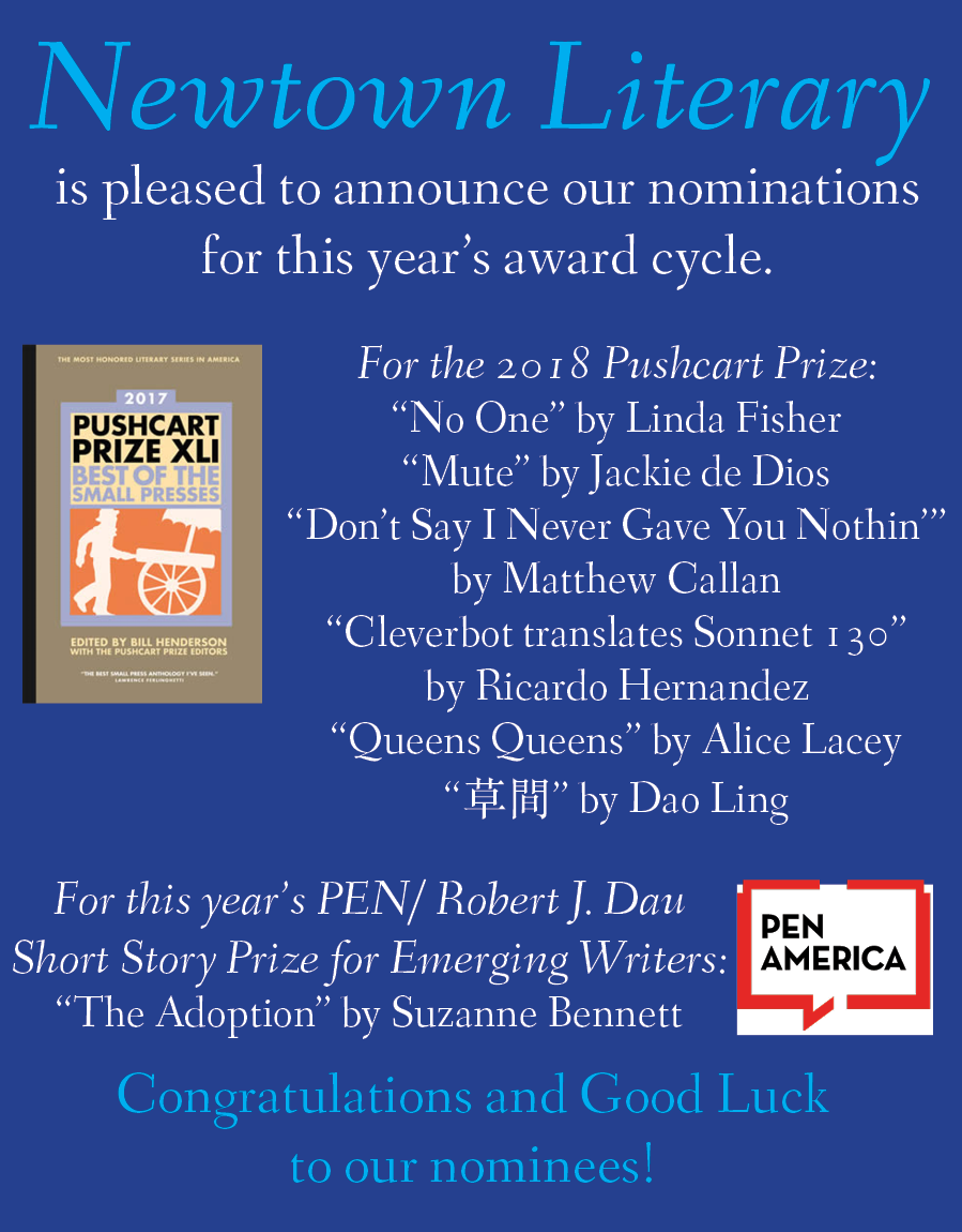 pushcart-and-pen-award-announcement